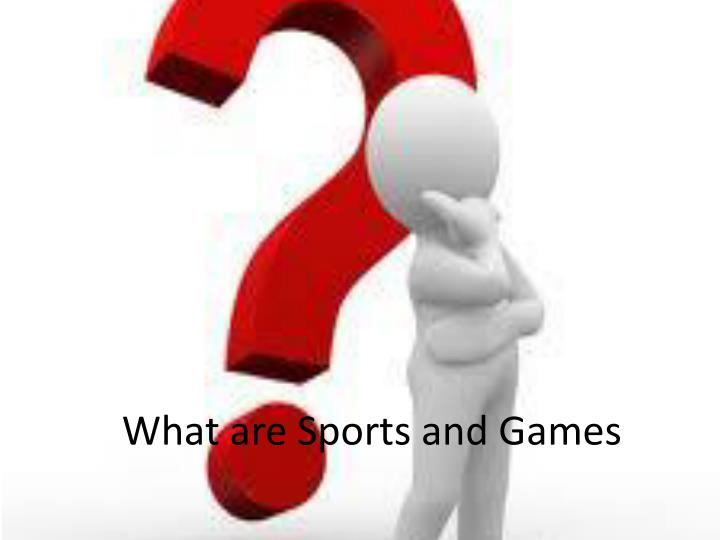 importance of sports and games The importance of sports and physical education physical activity is essential to the health and development of a child according to the centers for disease control (cdc), the rate of childhood.
