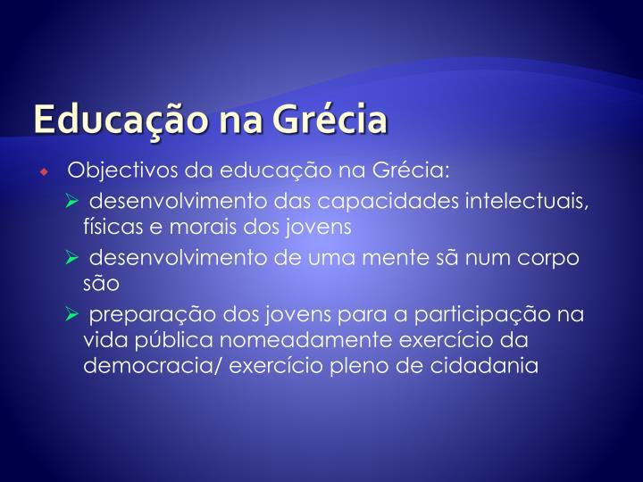 Educação na Grécia