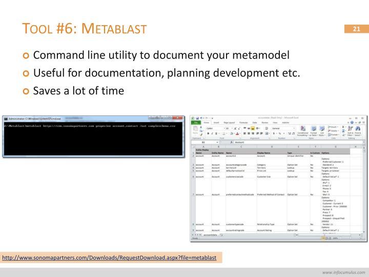 Tool #6: Metablast