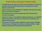 power factor correction of linear loads1
