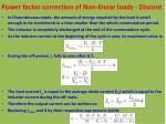 power factor correction of non linear loads discont1