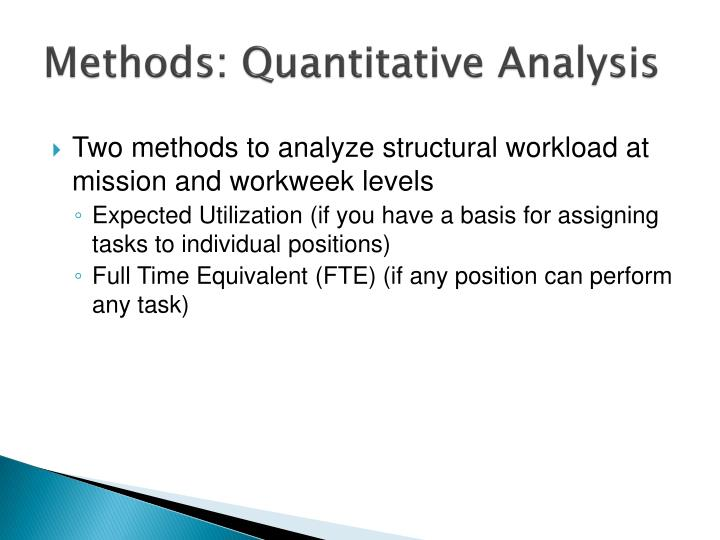 quantitative analysis chemistry notes