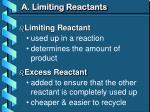 a limiting reactants1
