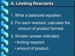 a limiting reactants2