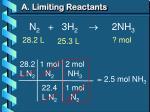 a limiting reactants4