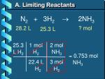 a limiting reactants5