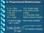 a proportional relationships