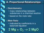 a proportional relationships1
