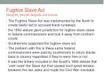 fugitive slave act group 3 kenneth bergretta and deanne