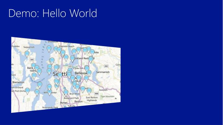 Demo: Hello World