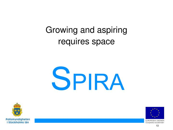 Growing and aspiring