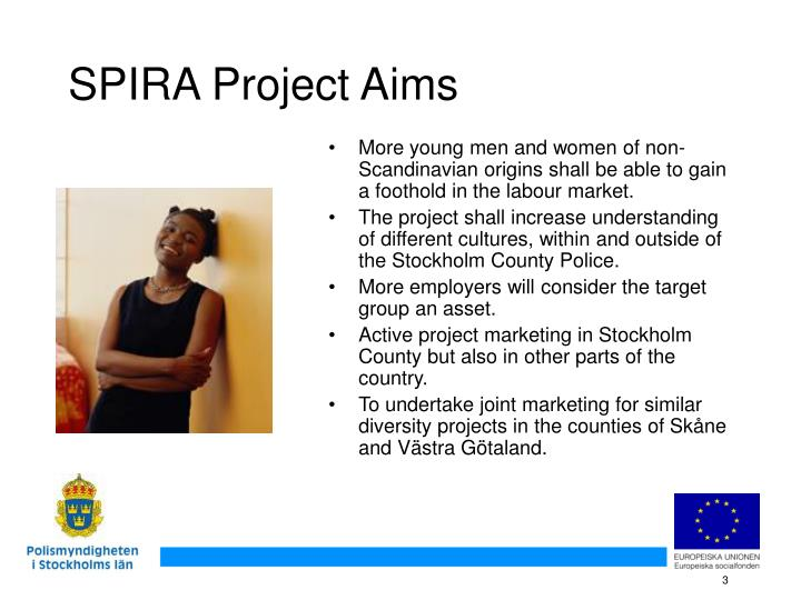 Spira project aims