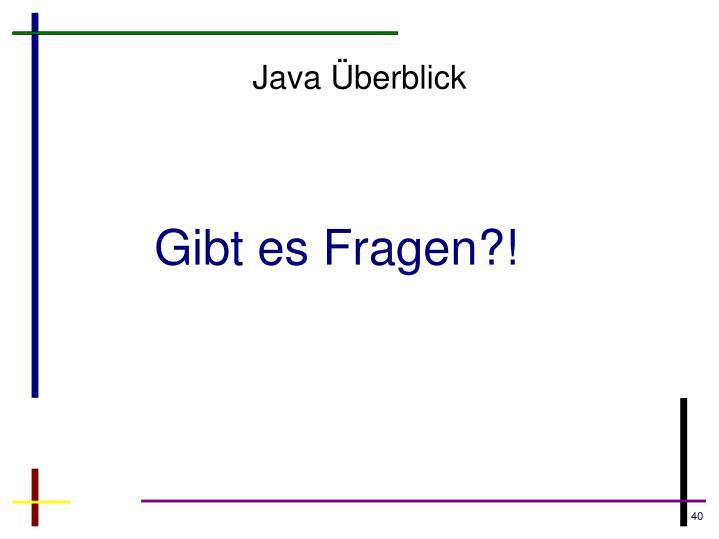 Java Überblick