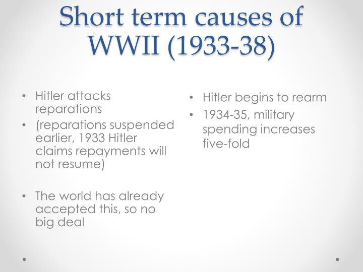 essays on world war 2 causes Causes of world war 2 essays - best essay and research paper writing and editing company - we can write you reliable essays, research papers and up to.