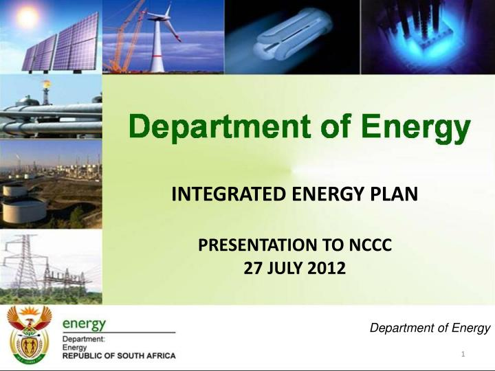 INTEGRATED ENERGY PLAN