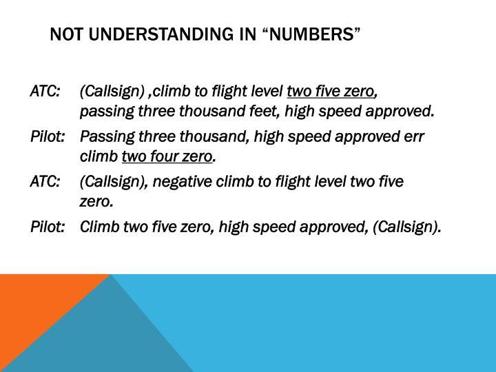 """Not understanding in """"numbers"""""""