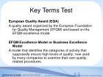 key terms test4