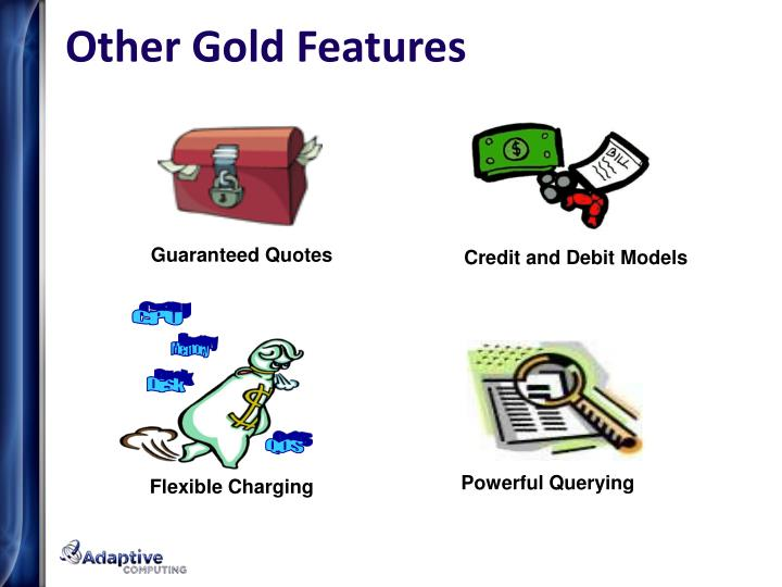 Other Gold Features