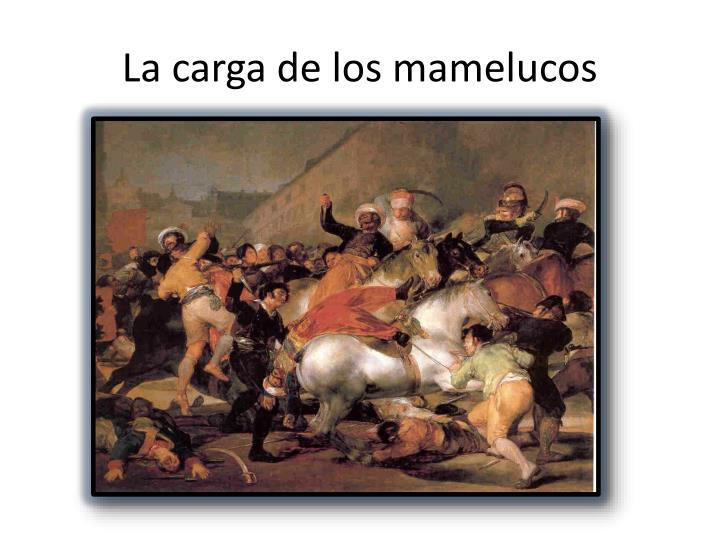 La carga de los mamelucos