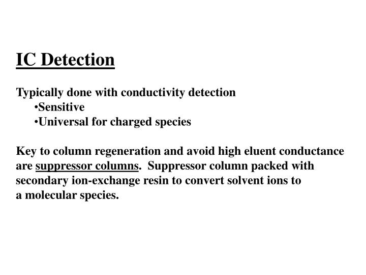 IC Detection