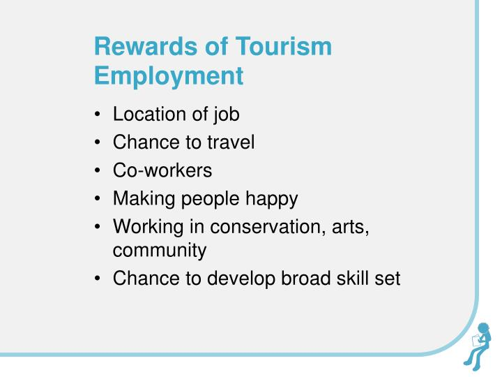 Rewards of Tourism Employment