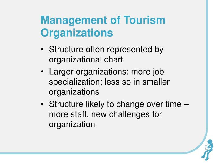 Management of Tourism