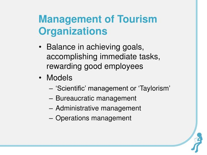 Management of Tourism Organizations
