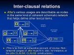 inter clausal relations2
