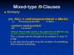 mixed type n clauses2
