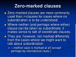 zero marked clauses3