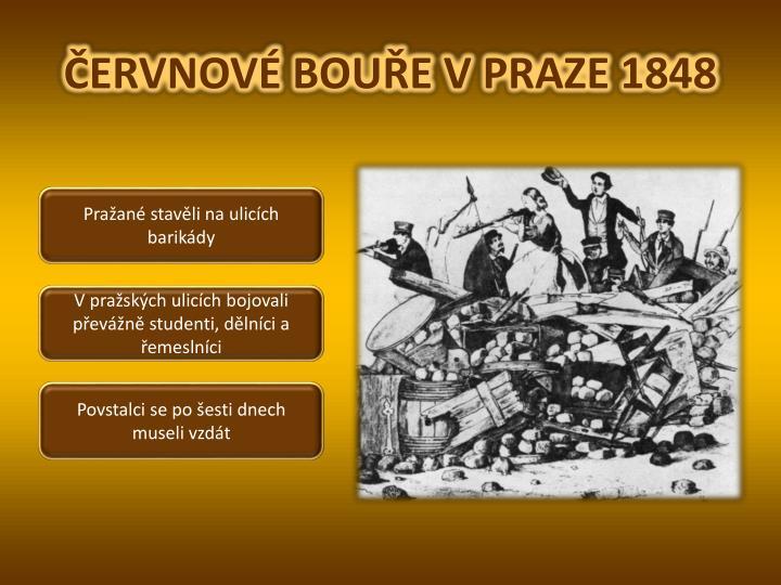 ČERVNOVÉ BOUŘE V PRAZE 1848