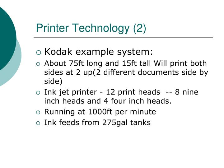 Printer Technology (2)