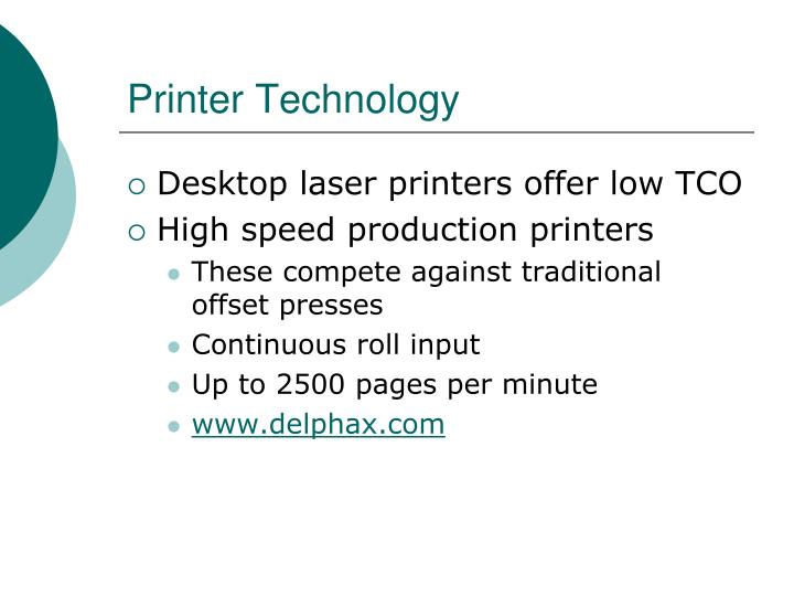 Printer Technology