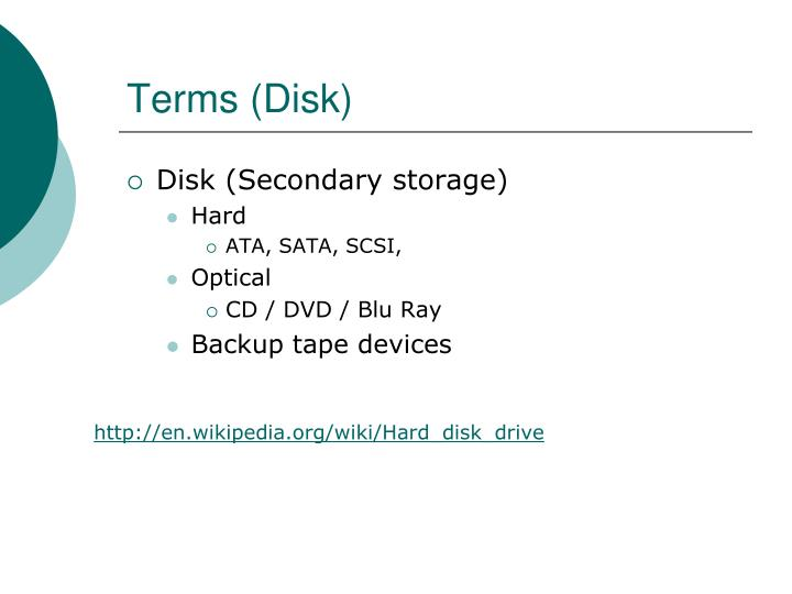 Terms (Disk)