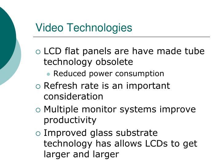 Video Technologies