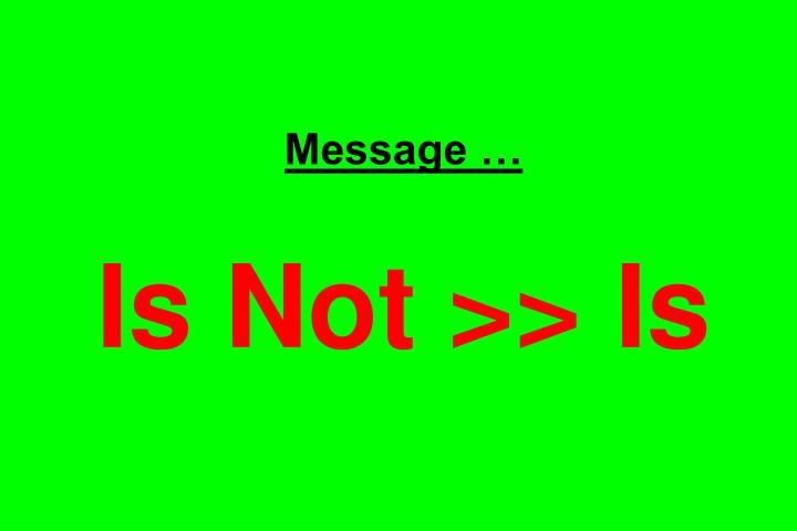Message …