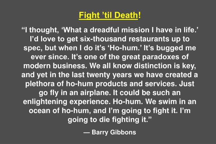 Fight 'til Death