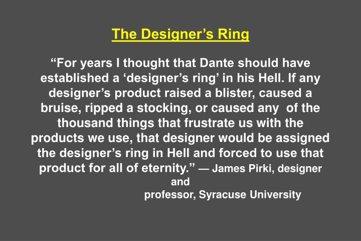 The Designers Ring