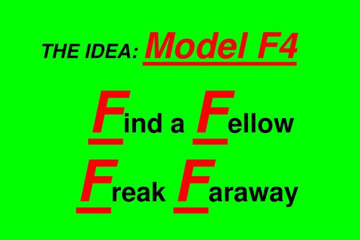 THE IDEA: