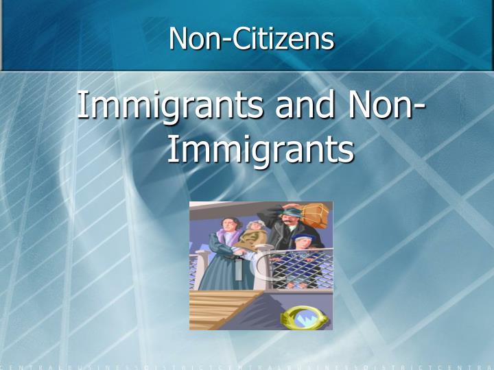 Non-Citizens