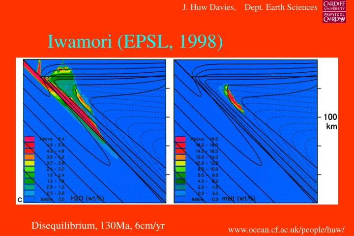 Iwamori (EPSL, 1998)