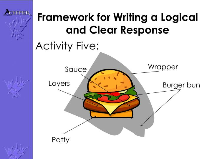 Framework for Writing a Logical and Clear Response