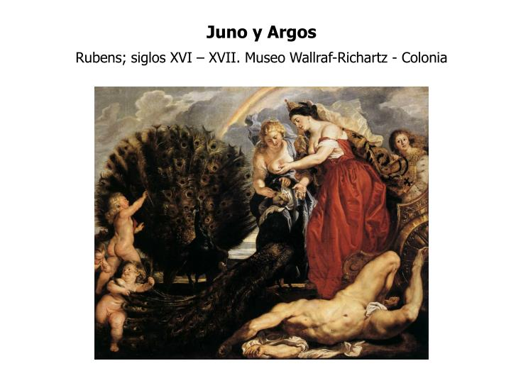 Juno y Argos