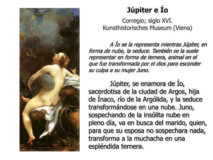 Júpiter e Ío