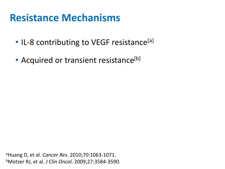 Resistance Mechanisms