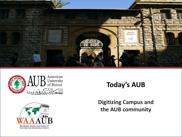 Today's AUB