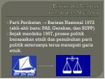 kerjasama selepas penubuhan malaysia