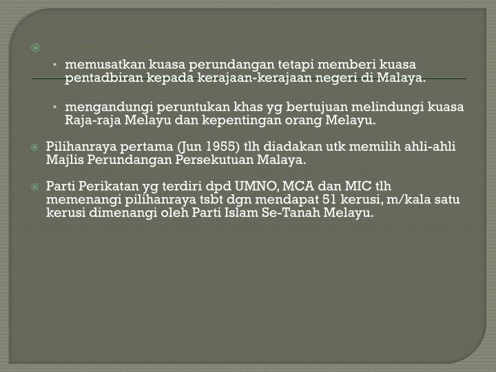 Perlembagaan Malaya 1948:
