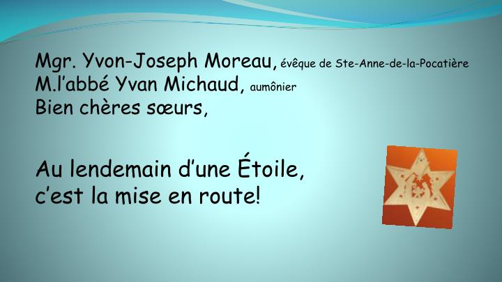 Mgr. Yvon-Joseph Moreau,