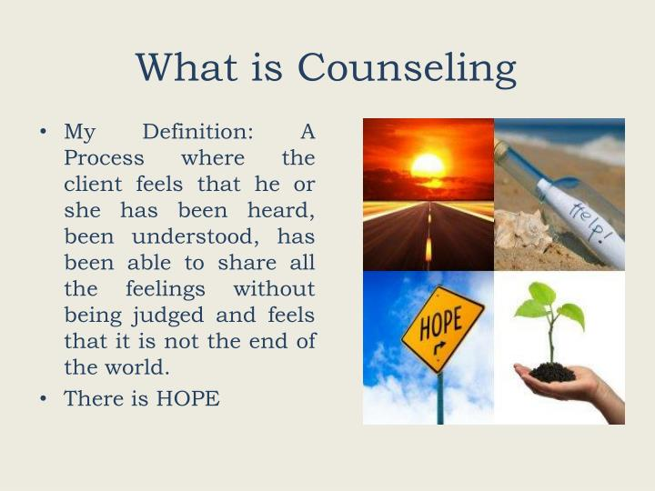 What is counseling1